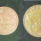 Coin Brazil 5 Centavos 2001