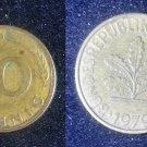 Coin Germany 10 Pfennig 1979 G