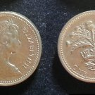 Coin Great Britain England UK 1 Pound 1984