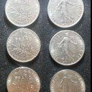 Coin France 1/2 Franc 1971