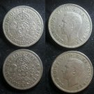 Coin Great Britain England UK 2 Shilling 1949