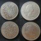 Coin Great Britain England UK 2 Shilling 1967