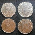 Coin Netherlands 1 Gulden Nickel 1967