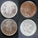 Coin Denmark 1 Krone 1973
