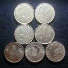 Coin Spain 5 Pesetas 1989 1990 1991 1998 Commemorative 1994 1996 1997