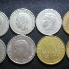 Coin Greece 1 Drachma 2 Drachmai Drachmas 1957 1962 1966 1971 1973 1976