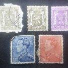 Lot 10 Used Stamp Belgium 1936 - 1945
