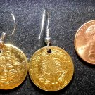 Eagle Recuerdo Matrimonial Token Earrings