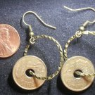 Spain Real Coin Earrings