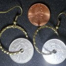 Norway Real Vintage Coin Earrings