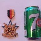 Vintage 1985 Volkswanderung Volksmarch German Walking Hiking Medal Badge