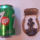 Vintage Kaiserslautern Volkswanderung Volksmarch German Walking Hiking Medal Badge