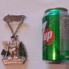Vintage 1984 Ziel Volkswanderung Volksmarch German Walking Hiking Medal Badge