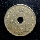 Coin Belgium 25 Centimes 1923 French Text