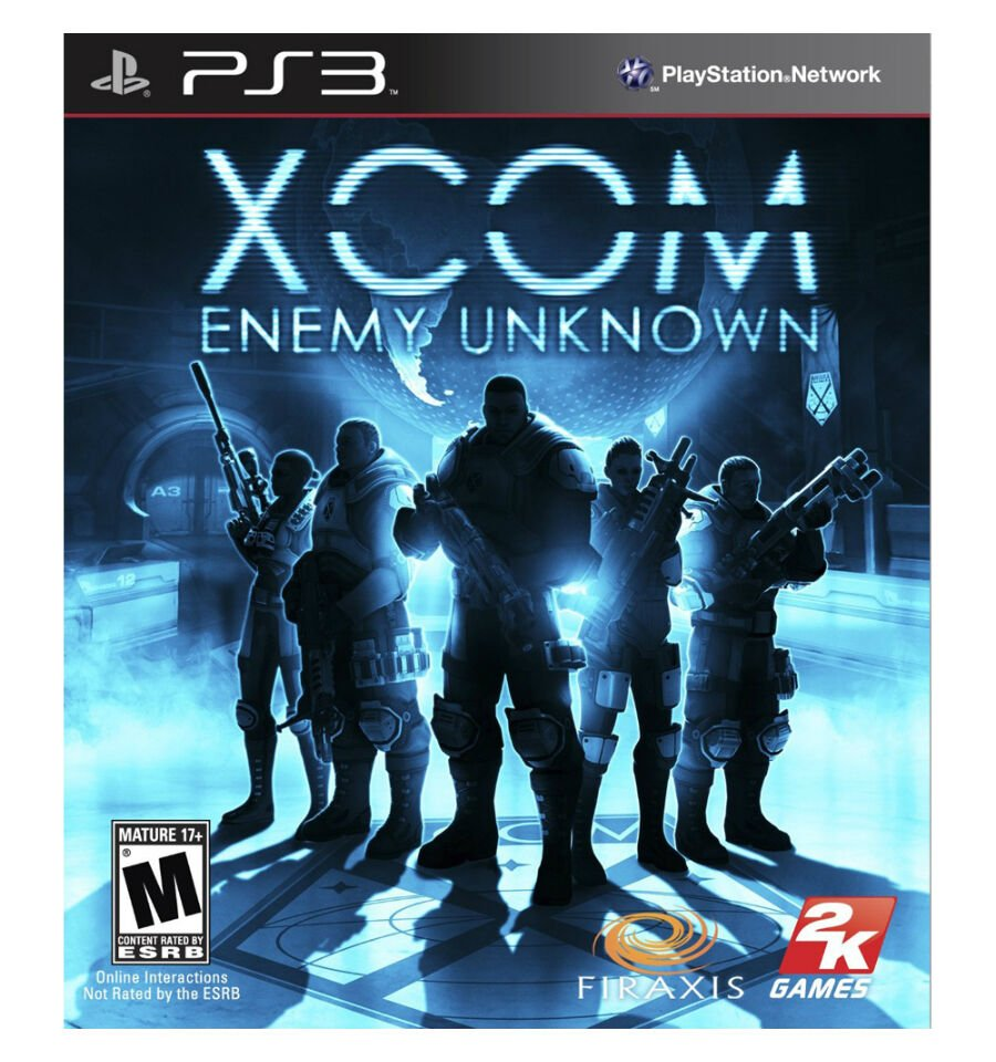 XCOM: Enemy Unknown (Sony PlayStation 3, 2012) CONDITION LIKE NEW