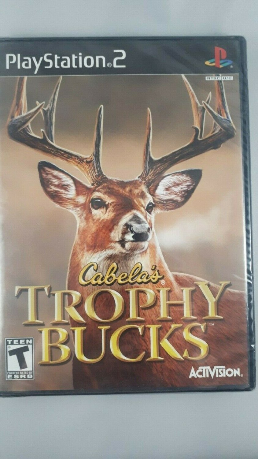 Cabela's Trophy Bucks (Sony PlayStation 2, 2007) disc LIKE NEW with BOOKLET