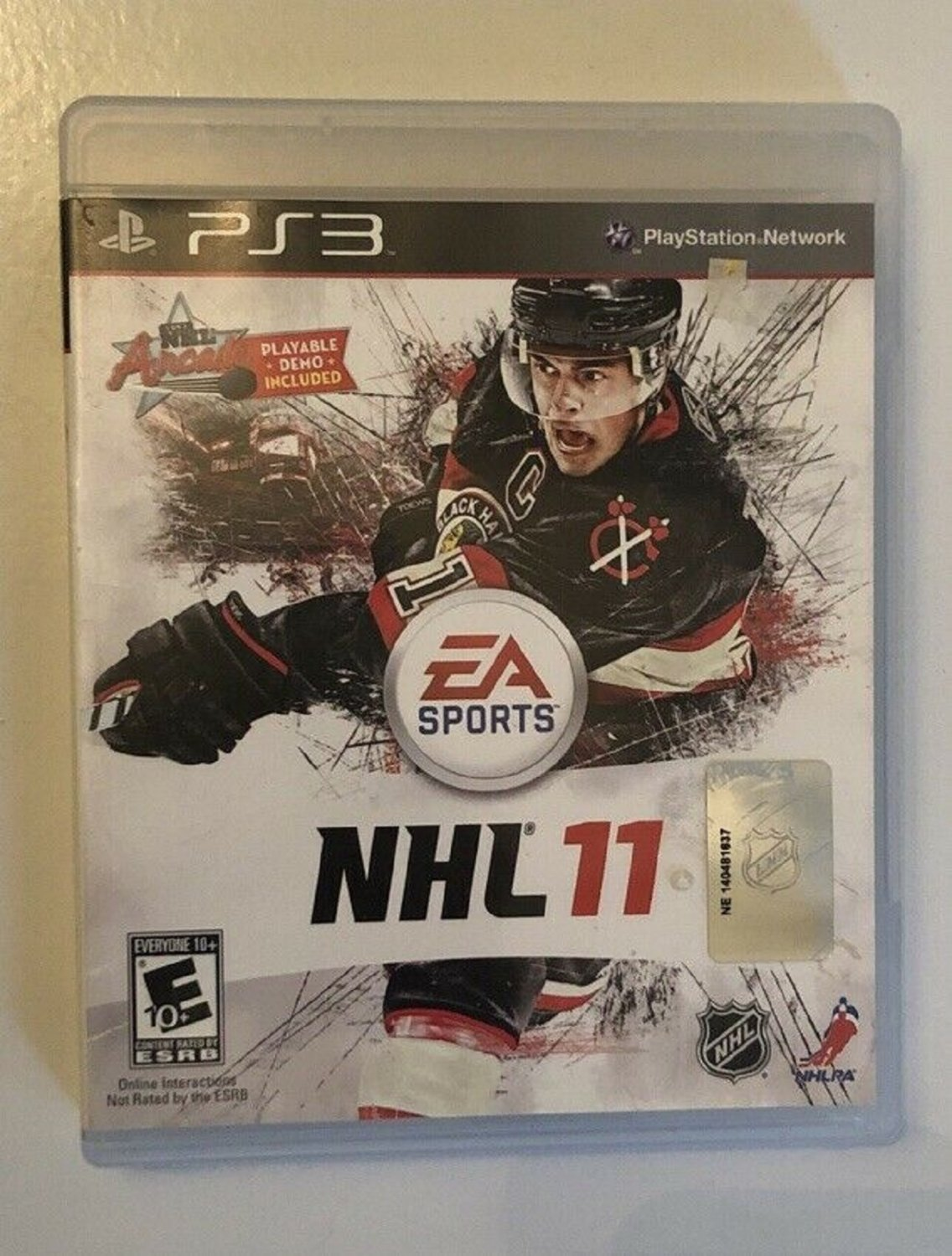 NHL 11 (Sony PlayStation 3, 2010) LIKE NEW with BOOKLET