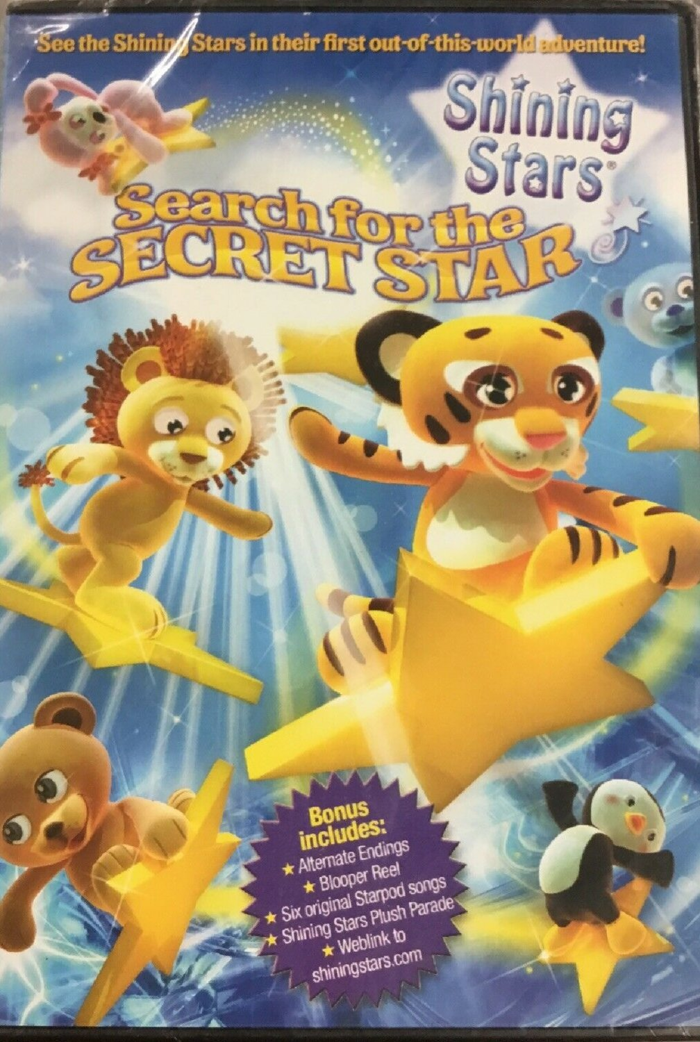 Shining Stars Search For The Secret Star DVD - BRAND NEW