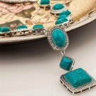 Turquoise bohemian style Necklace