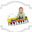 Touch Play Keyboard Musical Baby Playing Mat