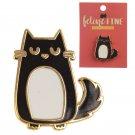 Cat Design Enamel Pin Badge