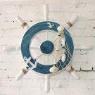 Wooden Boat Ship Steering Wheel