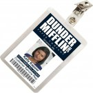 Kolo Kolo The Office Kelly Kapoor Mifflin ID Badge Cosplay Costume Name Tag TO-10