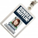 Kolo Kolo The Office Meredith Palmer Dunder Mifflin ID Badge Cosplay Costume Name Tag TO11