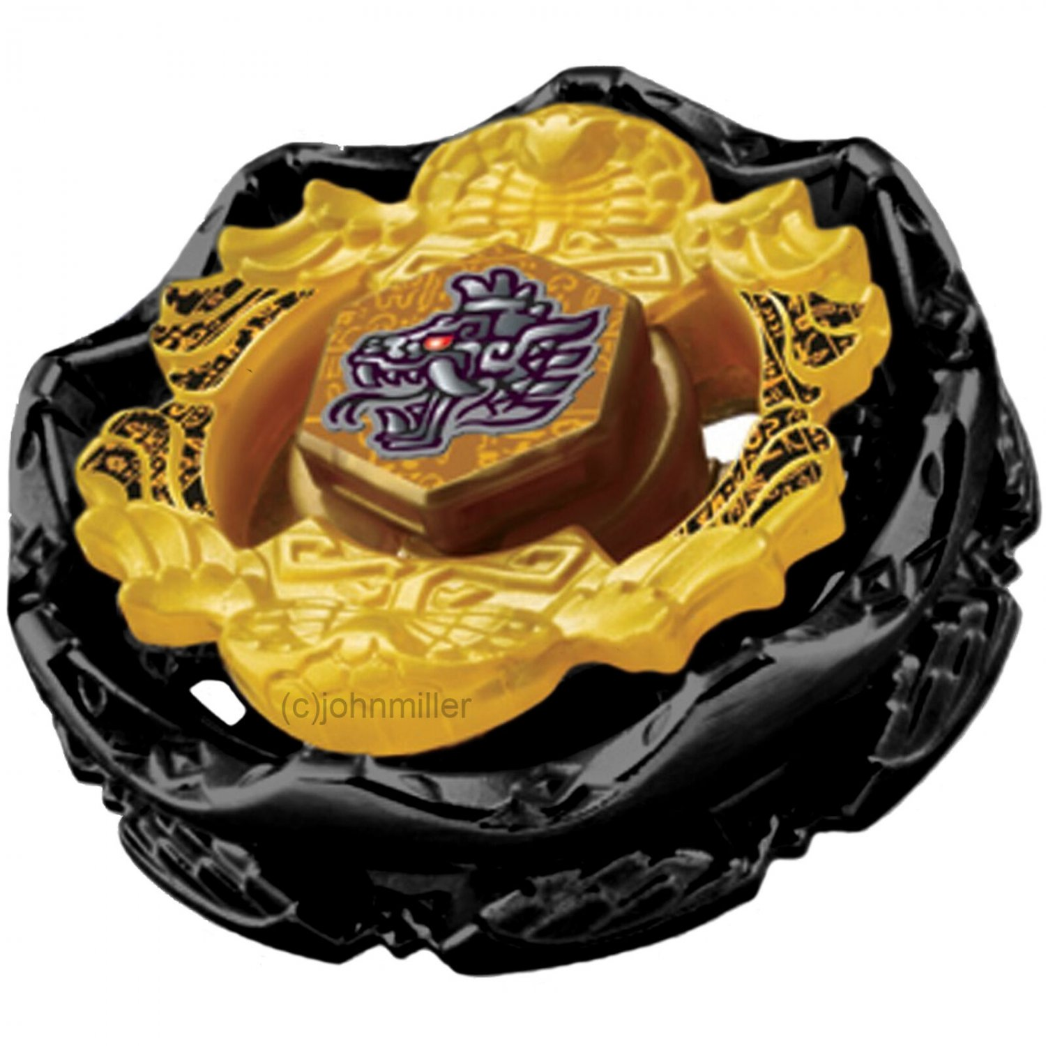 Kolo Kolo Limited Edition Death Quetzalcoatl BLACK APOCALYPSE Version Beyblade USA SELLER
