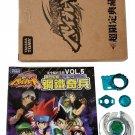 Kolo Kolo TAKARA TOMY WBBA Quetzalcoatl 90WF RARE Metal Fight Beyblade Prototype w/ Book