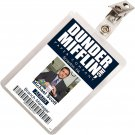 Kolo Kolo The Office Michael Scott Dunder Mifflin ID Badge Cosplay Costume Name Tag TO-2
