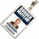 Kolo Kolo The Office Toby Flenderson Dunder Mifflin ID Badge Cosplay Costume Name Tag TO-8