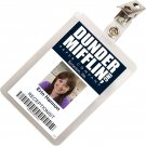 Kolo Kolo The Office Erin Hannon Dunder Mifflin ID Badge Cosplay Costume Name Tag TO-6