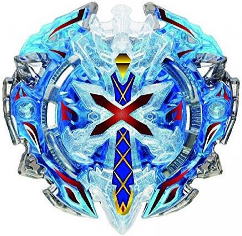 Kolo Kolo B-67 BLUE Xeno Xcalibur / Xcalius / Excalibur DOWN ORBIT Burst BOOSTER Beyblade