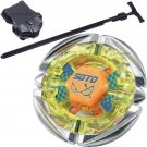Flame SAGITTARIO Metal Fusion 4D Beyblade STARTER SET w/ Launcher & Ripcord!