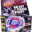 Galaxy Pegasus / Pegasis Metal Fury Beyblade Set NIP + Launcher - USA SELLER!