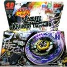Scythe Kronos Metal Fusion Fury Masters Beyblade Set w Launcher NIP - USA SELLER