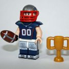 Lego Compatible New England Patriots Football NFL Player Minifigure