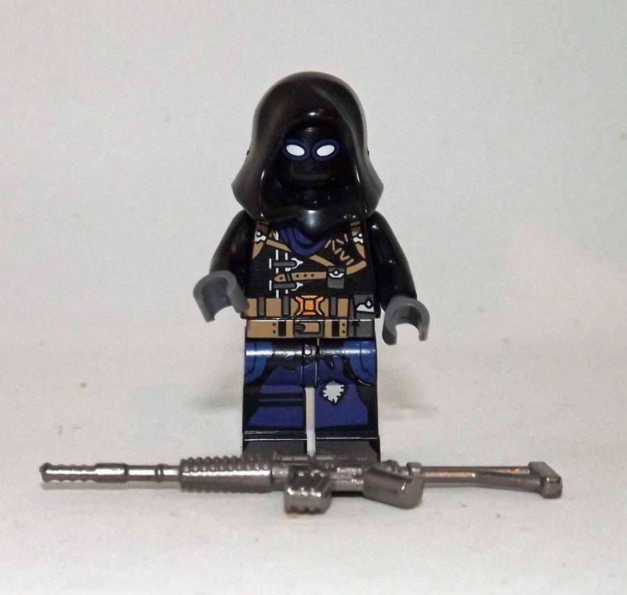 Lego Compatible Raven Fortnite Ninja Game Minifigure