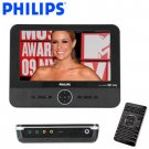 PHILIPS® WIDESCREEN PORTABLE DVD PLAYER WITH iPOD DOCK & PHOTO FRAME
