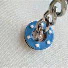 Keychain stainless steel marine life jacket (007)