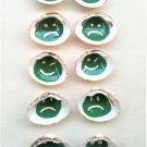 Memory game of 10, hand-painted seashells, Venus Verrucosa and Parvicardium Scriptum (017)