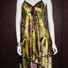 Long Silk Sun dress