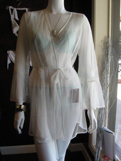 Betsey Johnson sheer robe