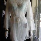 Betsey Johnson sheer robe