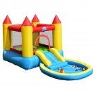 Kids Inflatable Bounce House Castle with Balls Pool & Bag