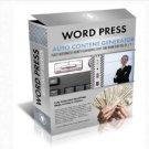Auto Content Generator PHP Script For Wordpress Blog