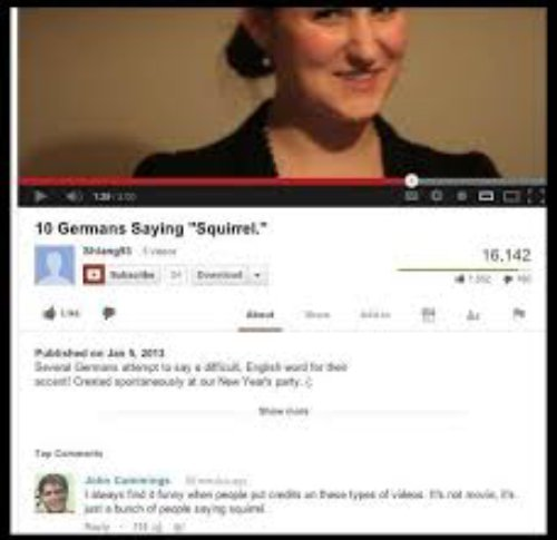 25 Comments On Your YouTube video
