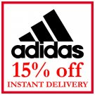 ADIDAS 15% OFF Coupon Discount Promo Code