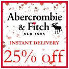 25% OFF Abercrombie Coupon Promo Code